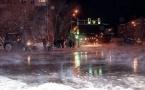 В Петропавловске горячей водой залило три центральных улицы (фото, видео)